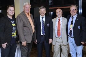 Klaipėdos ir Europos federacijos atstovai
