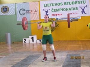 Absoliuti studentų nugalėtoja Aleksandra Stepanova
