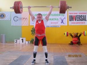 Žygimantas Stanulis absoliutus čempionato nugalėtojas