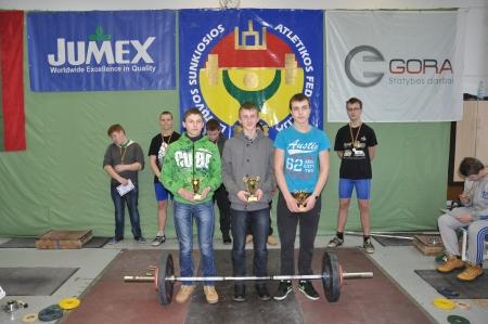 Atviros Klaipėdos miesto  jaunučių  sunkiosios atletikos pirmenybės skirtos Lietuvos valstybės atkūrimo dienai paminėti