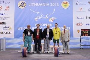 Lietuvos treneriai ir vadovai džiaugiasi medaliu