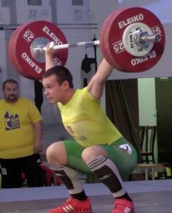6-tos vietos pasaulio jaunių čempionate laimėtojas - Andrius Užkuraitis