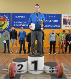 Absoliutus nugalėtojas Vilius Rubinas