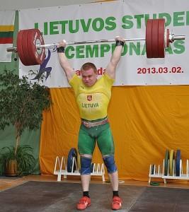 Absoliutus čempionato nugalėtojas Žygiminatas Stanulis