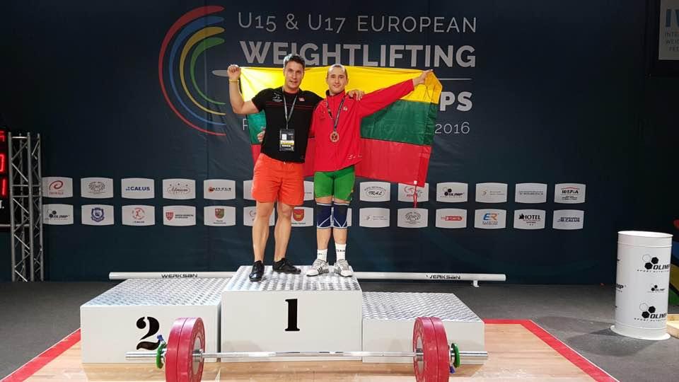 Povilui Valskiui – Europos pirmenybių medalis (VIDEO)