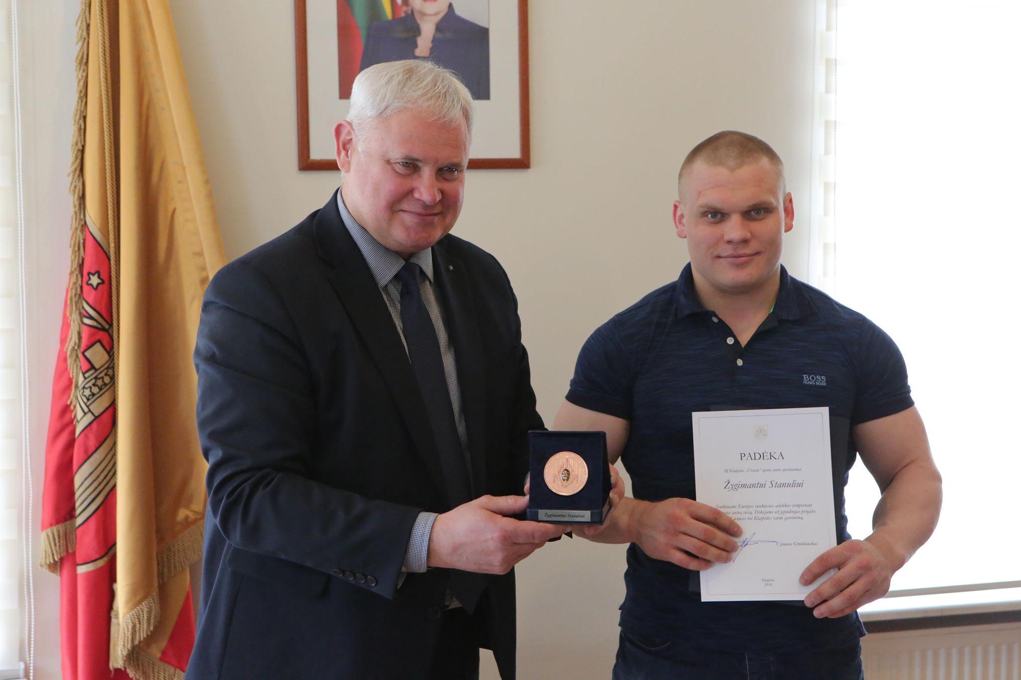 Žygimantui Stanuliui – vardinis Klaipėdos medalis