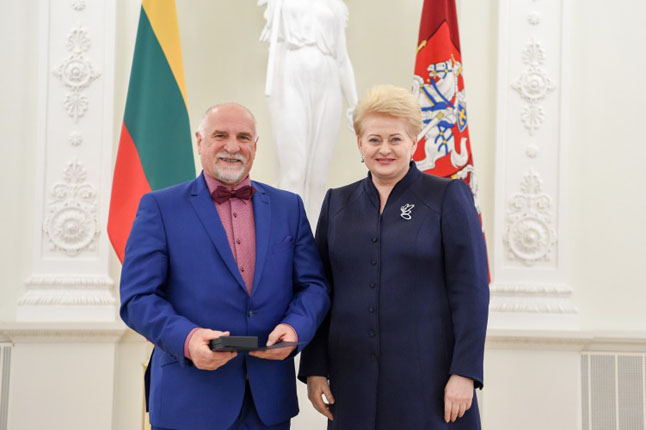 Bronislavas Vyšniauskas, Dalia Grybauskaitė