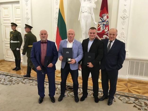 Bronislavas Vyšniauskas, Aurimas Didžbalis, Žygimantas Stanulis, Vytautas Čepas