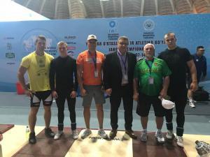 2018.07.06-14 Pasaulio jaunimo sunkiosios atletikos čempionatas